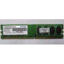 Модуль оперативной памяти 4Gb DDR2 Patriot PSD24G8002 pc-6400 (800MHz)  (Купавна)