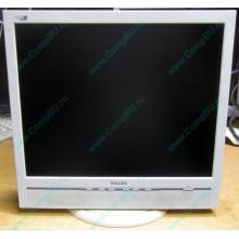 """Б/У монитор 17"""" Philips 170B с колонками и USB-хабом в Купавне, белый (Купавна)"""