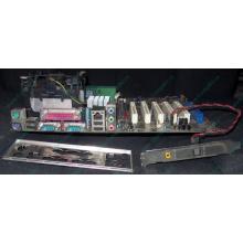 Материнская плата Asus P4PE (FireWire) с процессором Intel Pentium-4 2.4GHz s.478 и памятью 768Mb DDR1 Б/У (Купавна)